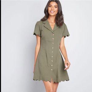 Pleasant Present Shirt Dress -Louche - ModCloth